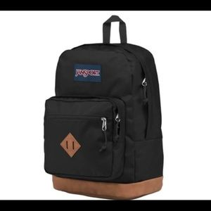 JanSport City View Backpack Black NWT